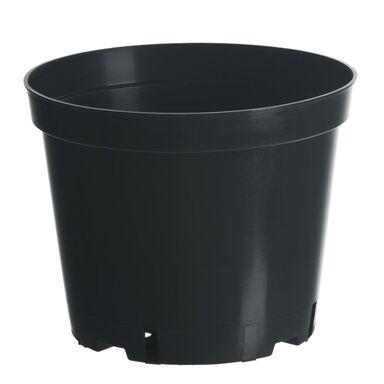 Doniczka plastikowa 32 cm czarna 15,0 L RIM KOWALCZYK
