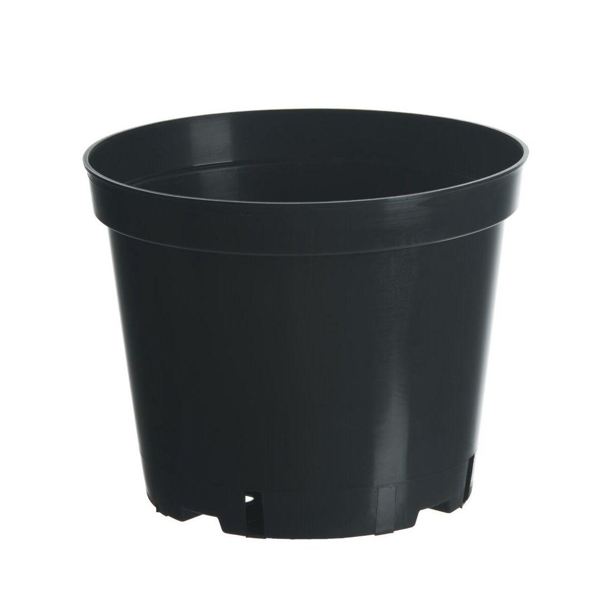 Doniczka Plastikowa 32 Cm Czarna 15 0 L Doniczki W Atrakcyjnej Cenie W Sklepach Leroy Merlin
