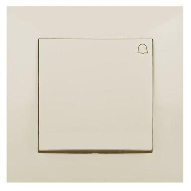 Przycisk do dzwonka CARLA  kremowy  ELEKTRO - PLAST
