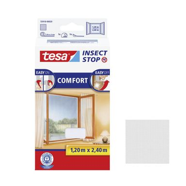 Moskitiera na okno COMFORT 120 x 240 cm Biała TESA