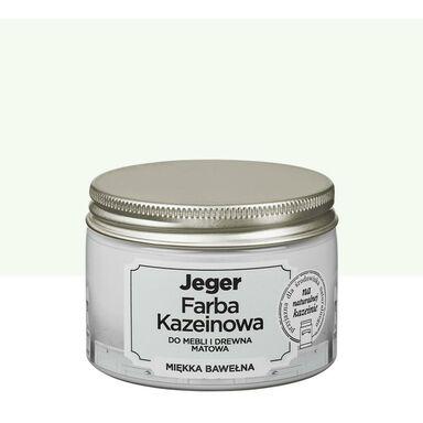 Farba kazeinowa 0.125 l Miękka bawełna Jeger
