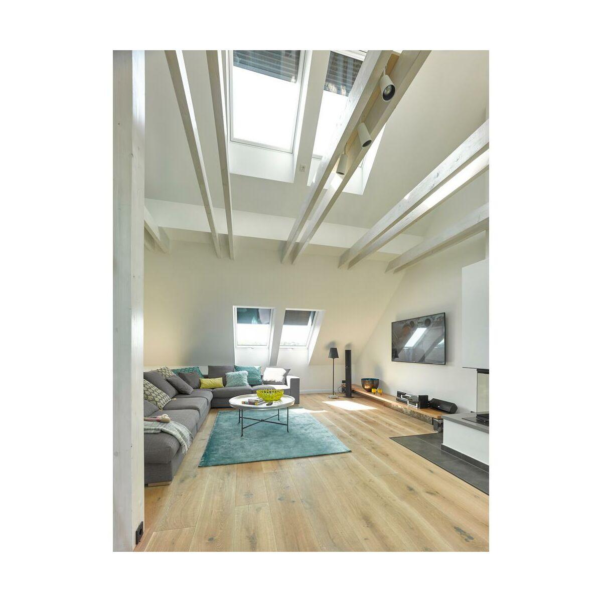 okno dachowe gpu pk08 0066 140x94 cm velux okna dachowe w atrakcyjnej cenie w sklepach leroy. Black Bedroom Furniture Sets. Home Design Ideas