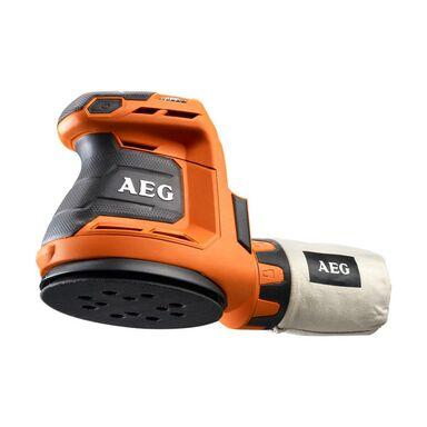 Bezprzewodowa szlifierka oscylacyjna 125 mm 18 V AEG