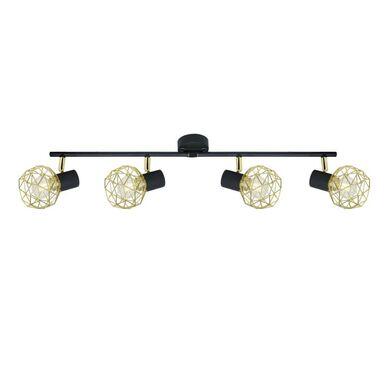 Listwa reflektorowa ACROBAT czarno-złota E14 CANDELLUX